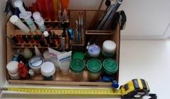 Доступны к заказу отличные органайзеры для инструментов и смазок
