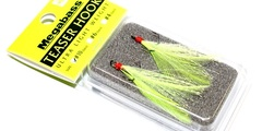 Тройники  megabass feather hook teaser hook # 10 #chart