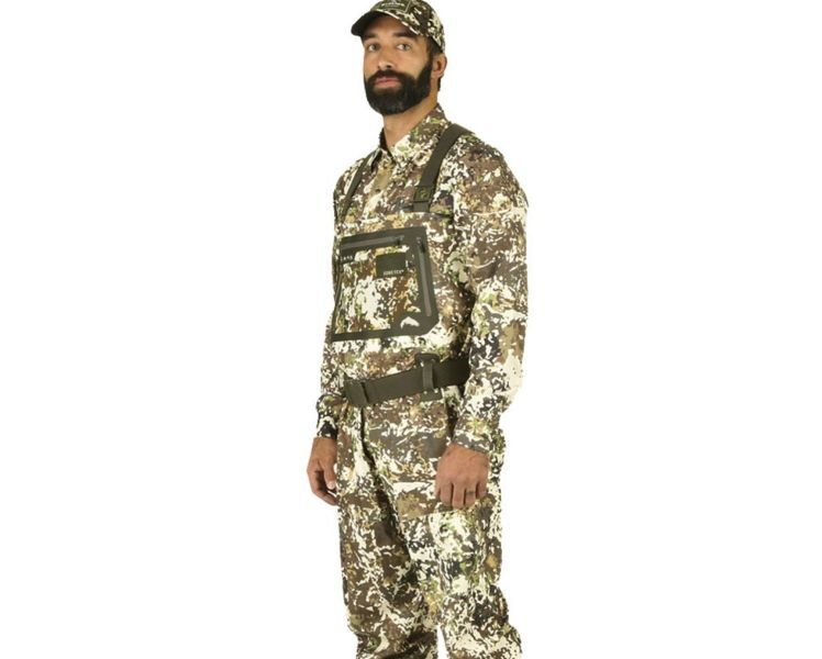 Вэйдерсы simms g3 guide river camo waders - bootfoot - felt sole