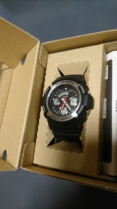 Часы casio g-shock aw-590-1ajf