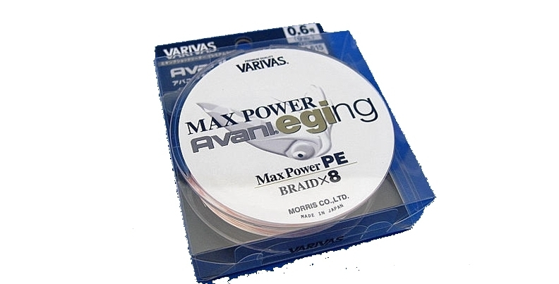 Шнур varivas  avani egging max power pe 9lb (no.0.6) 120m roll